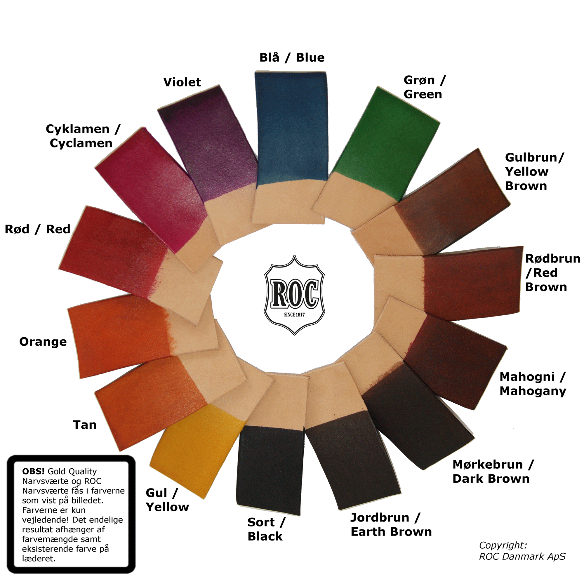 Narvsværte Farvehjul
