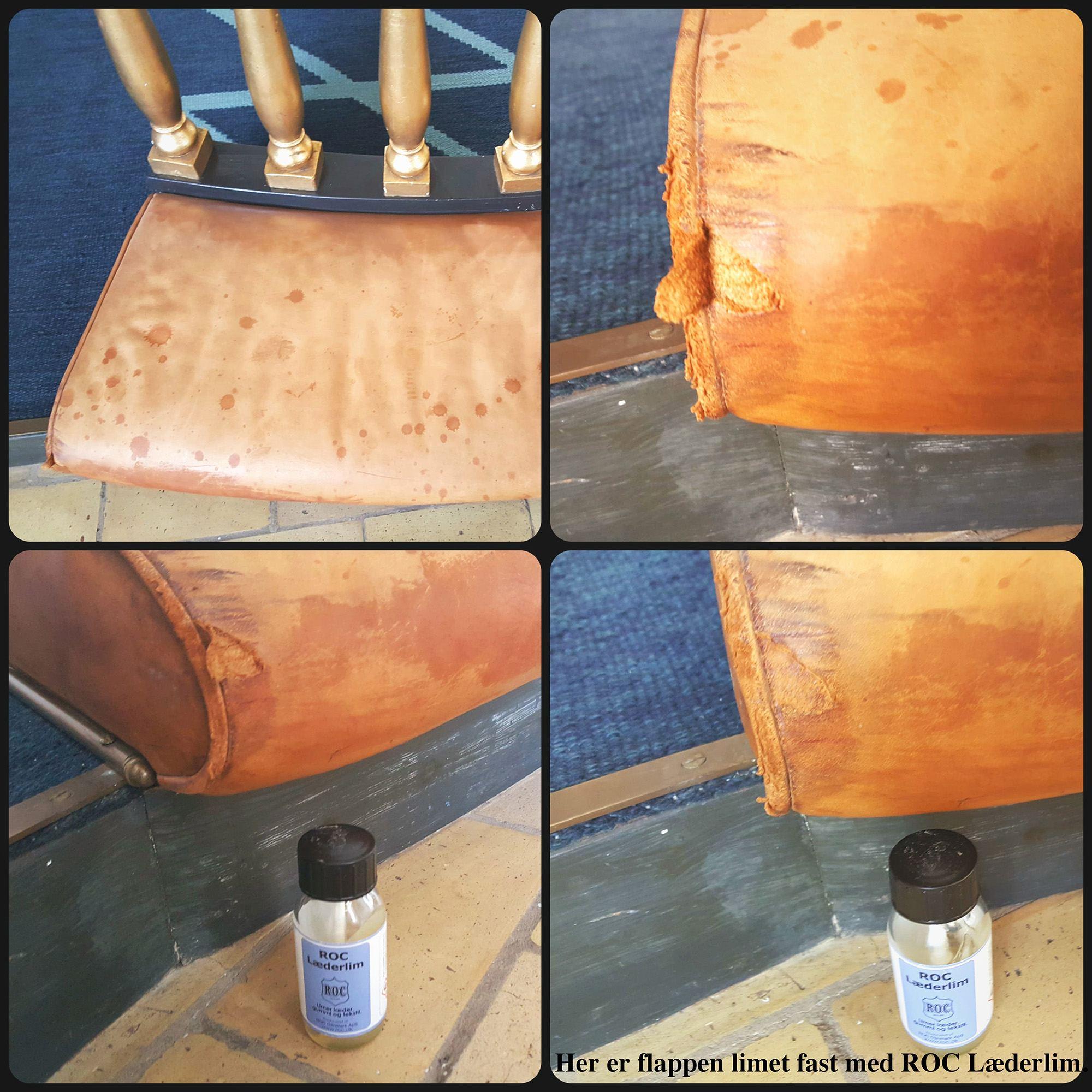 5c4f814b9cb Spørgsmål og svar - Læderpleje og farve til lædermøbler - ROC
