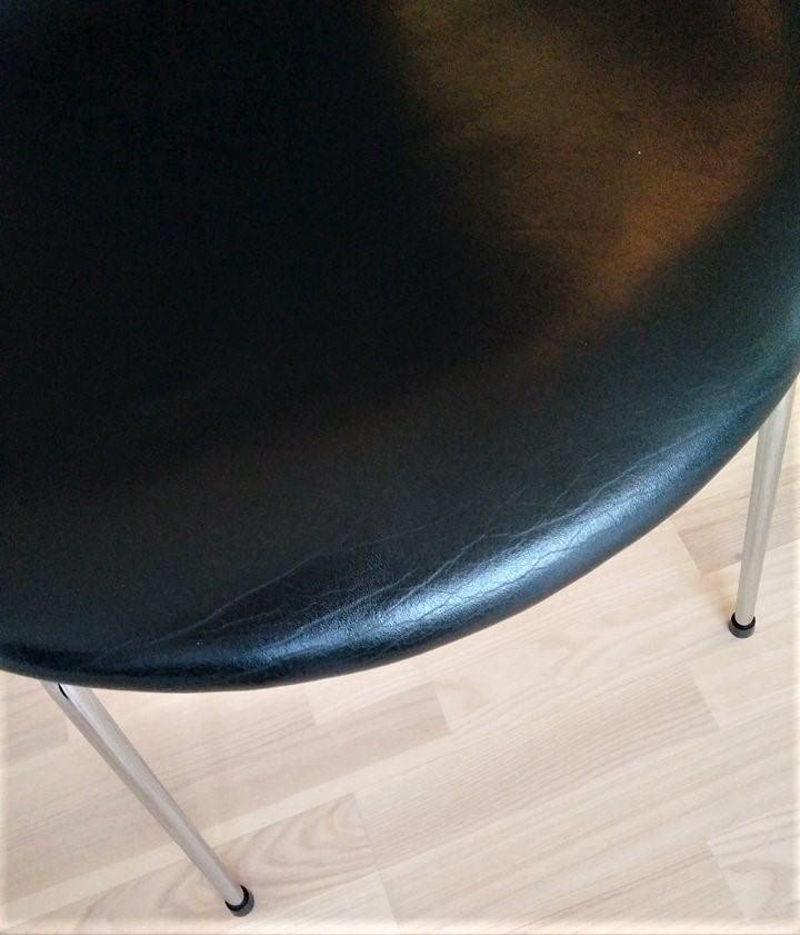 7er stol hvor læderet rynker
