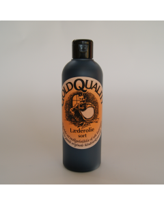 Gold Quality Læderolie Sort 250 ml
