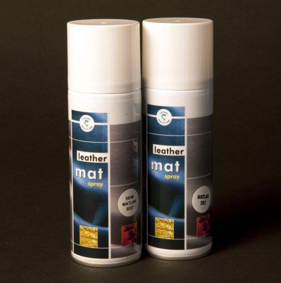 Læder spray semimat eller mat