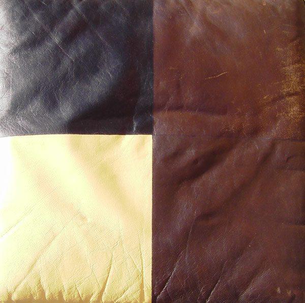 Hynde med forskellige typer af læderfarve