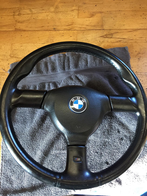 BMW læderrat efter behandling