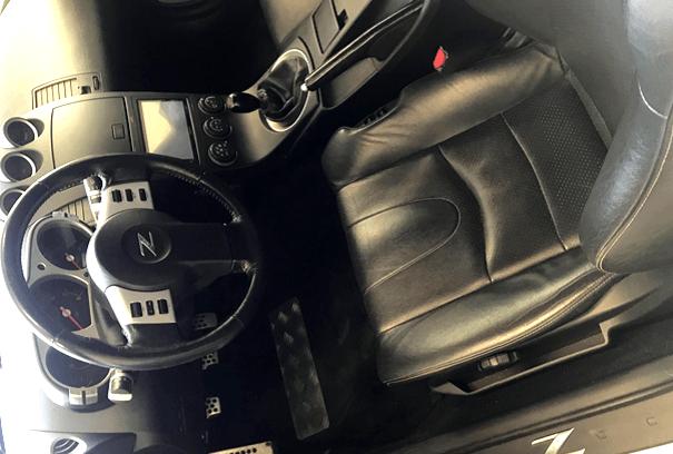 Læderrat i bil skifter farve, Gold Quality Læderdækfarve